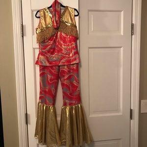 Girls Chasing Fireflies Disco Queen costume sz12